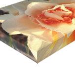 Foto de la flor lona estirada galerias