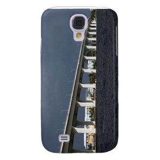 Foto de la Florida de la playa de Jensen del puent Funda Para Samsung Galaxy S4