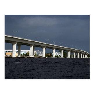 Foto de la Florida de la playa de Jensen del Postal