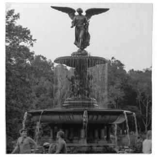 Foto de la fuente de Bethesda, Central Park Servilletas De Papel