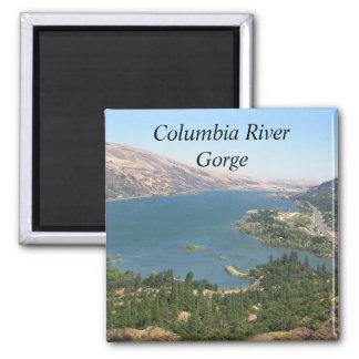 Foto de la garganta del río Columbia Imán Cuadrado