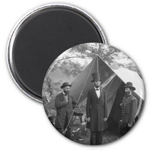 Foto de la guerra civil circa 1862 iman de nevera