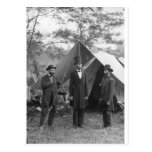 Foto de la guerra civil circa 1862 postal