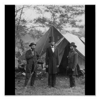 Foto de la guerra civil circa 1862 póster