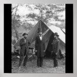 Foto de la guerra civil circa 1862 posters