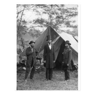 Foto de la guerra civil circa 1862 tarjeta postal