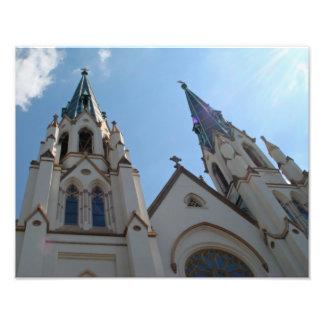 Foto de la iglesia católica de San Juan Bautista d Cojinete