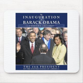 Foto de la inauguración de Obama Tapetes De Ratón