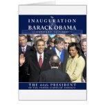 Foto de la inauguración de Obama Tarjetas