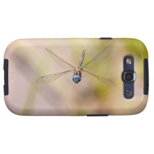 Foto de la libélula en vuelo samsung galaxy SIII funda