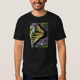 Foto de la lila de la mariposa del swallowtail del poleras