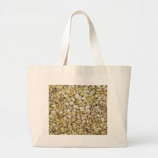 Foto de la macro de la semilla de sésamo bolsas de mano