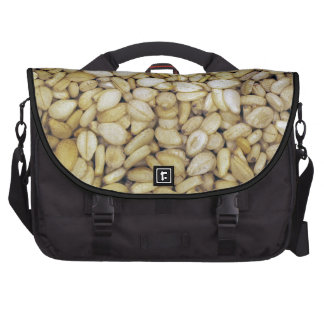 Foto de la macro de la semilla de sésamo bolsas para portátil