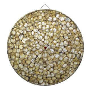Foto de la macro de los granos de la quinoa