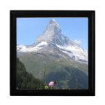 Foto de la montaña de Cervino Cajas De Recuerdo