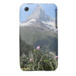 Foto de la montaña de Cervino iPhone 3 Case-Mate Cobertura