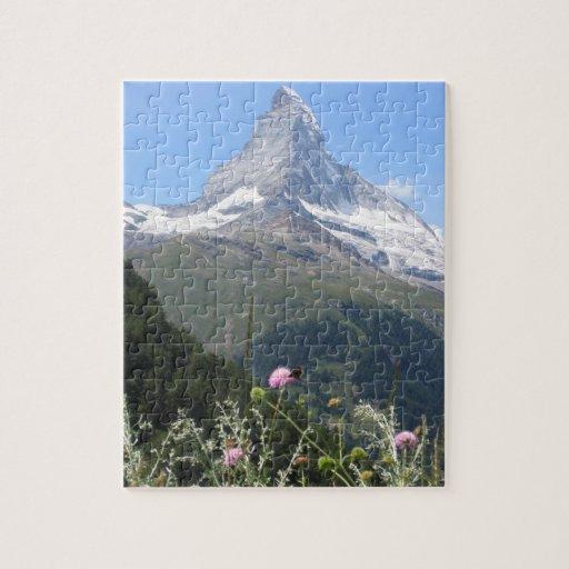 Foto de la montaña de Cervino Puzzles