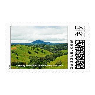 Foto de la montaña de Cooroy, Queensland; Sello