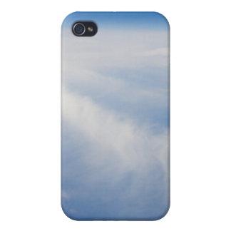 Foto de la mucha altitud de la tierra 2 iPhone 4 protectores