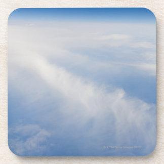 Foto de la mucha altitud de la tierra 2 posavaso