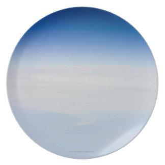 Foto de la mucha altitud de la tierra 3 plato