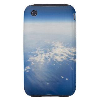 Foto de la mucha altitud de la tierra iPhone 3 tough protectores