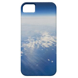 Foto de la mucha altitud de la tierra iPhone 5 protectores