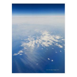 Foto de la mucha altitud de la tierra postal
