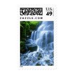 Foto de la multa de la cascada del río Columbia Estampilla