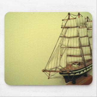 Foto de la nave del vintage tapete de ratones
