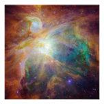 Foto de la nebulosa de Orión
