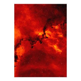 Foto de la nebulosa del rosetón anuncios