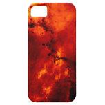 Foto de la nebulosa del rosetón iPhone 5 fundas