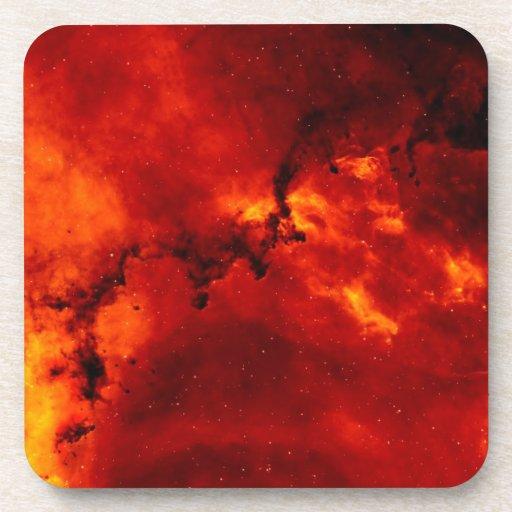 Foto de la nebulosa del rosetón posavaso