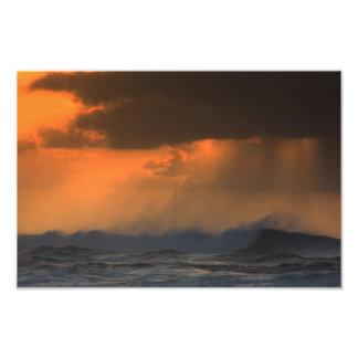 Foto de la niebla de la puesta del sol por Troy An Fotografía