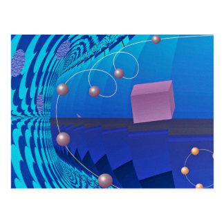 Foto de la órbita que cae tarjeta postal