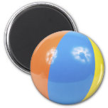 foto de la pelota de playa imán para frigorifico
