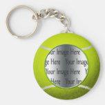 foto de la pelota de tenis llaveros personalizados