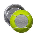Foto de la pelota de tenis pin