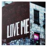 Foto de la pintada de la calle de New York City Azulejos Ceramicos