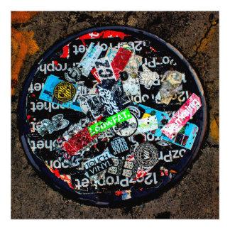 Foto de la pintada de la calle de New York City