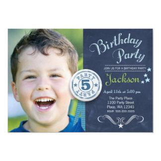 Foto de la pizarra del muchacho de la invitación