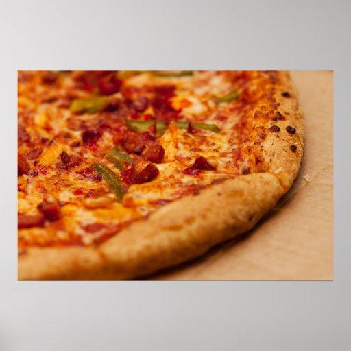 Foto de la pizza posters