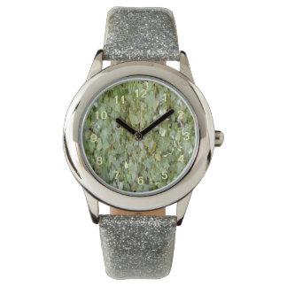 Foto de la planta reloj de mano