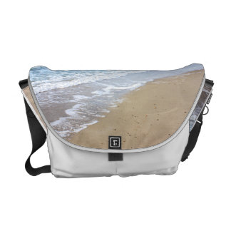 Foto de la playa bolsas de mensajería