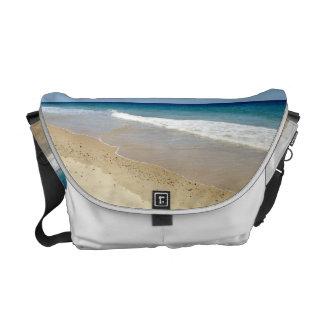 Foto de la playa bolsas messenger
