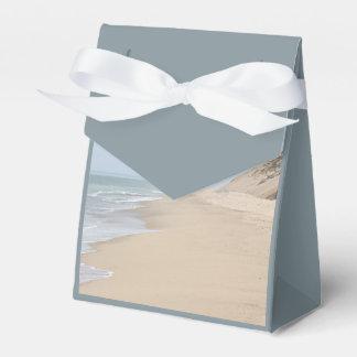 Foto de la playa cajas para regalos de boda