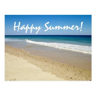 Foto de la playa tarjeta postal