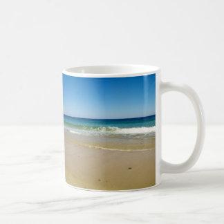 Foto de la playa taza clásica