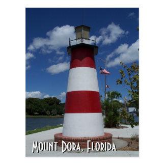 Foto de la postal del faro de Dora la Florida del